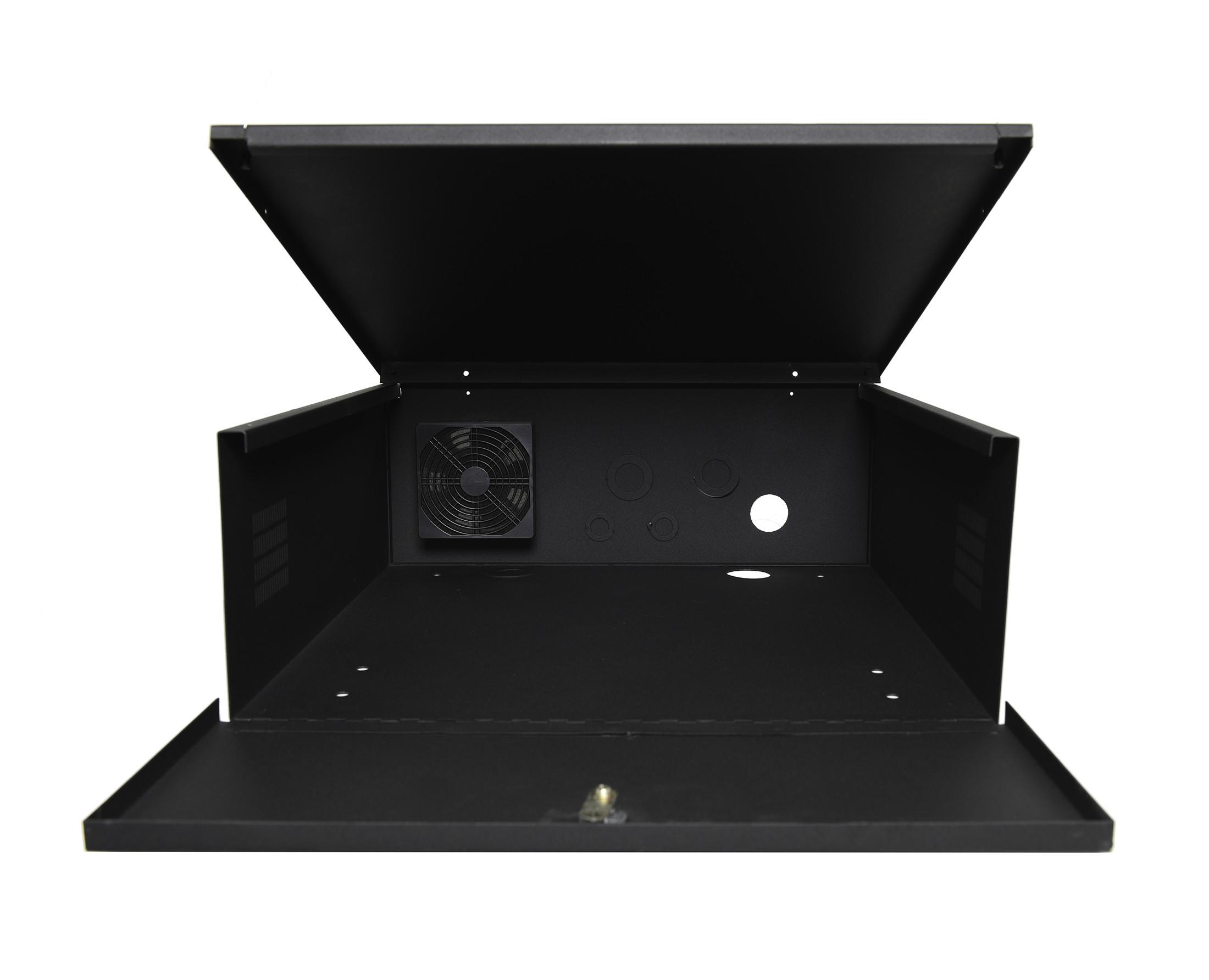 Dvr Lockbox With Cooling Fan 21 Quot W X 24 Quot L X 8 Quot H