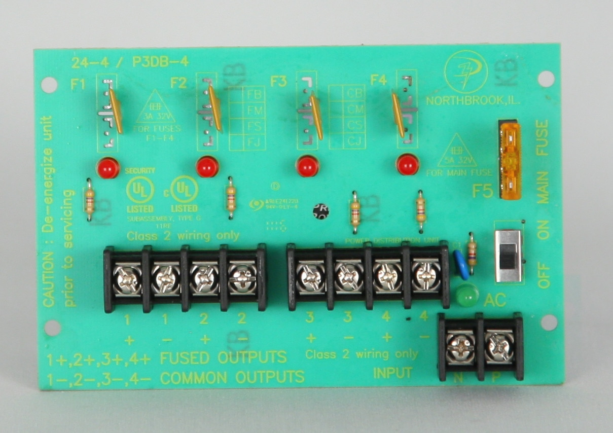 4 PTC Protected Output Power Distribution Board - Products | USA ...