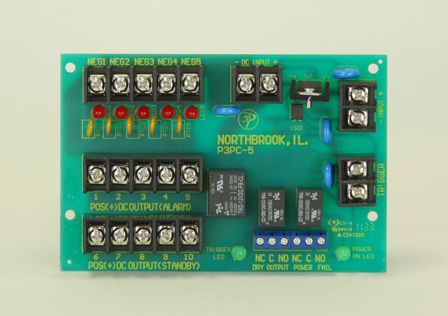 5 PTC Protected Multi-Output Module - FACP Trigger Input