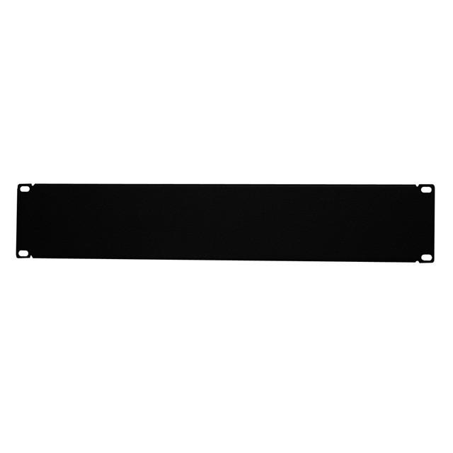 19 inch Horizontal Non-Vented Filler Panel, 2 RU