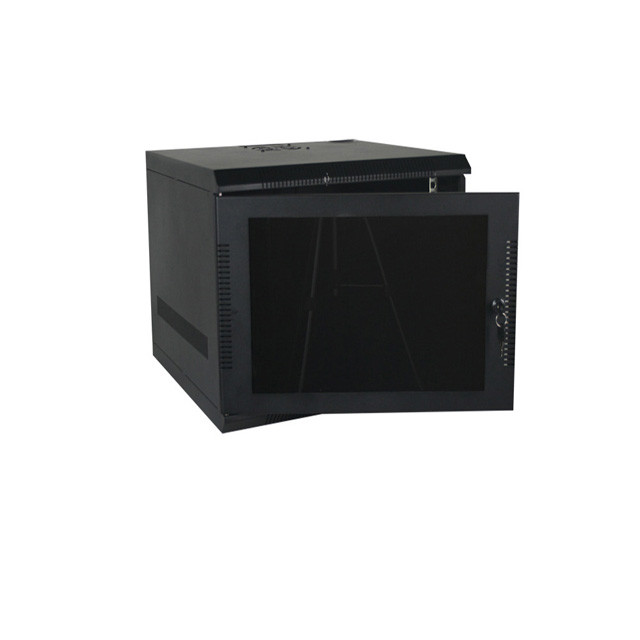 9U, 20″ Deep Fixed Wall Rack w/Acrylic Door