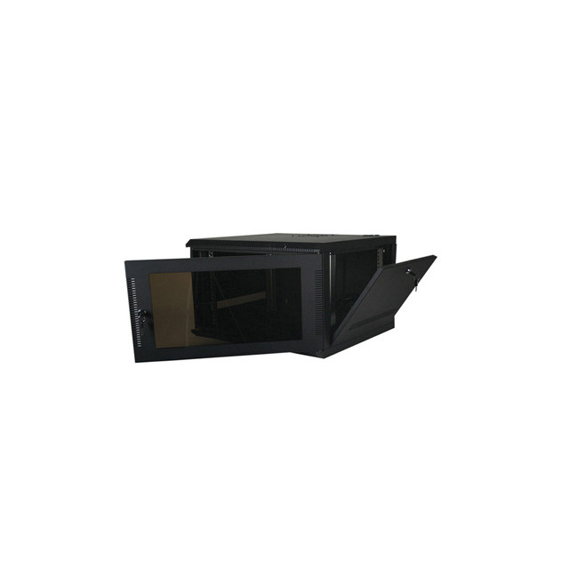 5U, 20″ Deep Fixed Wall Rack w/Acrylic Door and Removable Side Panels