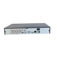 8CH Hybrid TVI DVR, Supports IP/TVI/CVBS (Analog) Cameras
