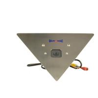 Corner Mount Camera, Color, 960H, 700TVL, 12VDC, 2.45mm, IR Filter, NTSC, Stainless Steel