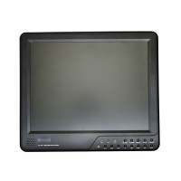 "All-In-One DVR with 15"" LCD Monitor - 8 CH, H.264, CIF, 2TB Max Storage"