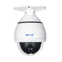 Indoor Mini PTZ Speed Dome Camera Color, 500TVL, 10x Zoom, 12VDC. NTSC, White Housing