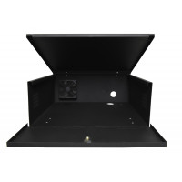 "DVR Lockbox with Cooling Fan 21"" W x 21"" L x 8"" H 120x120x40mm 110VAC Cooling Fan"