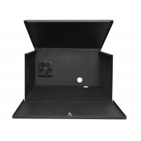 "DVR Lockbox with Cooling Fan 21"" W x 24"" L x 13"" H 120x120x40mm 110VAC Cooling Fan"