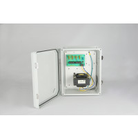 Weather Proof Power Supplies - 24 VAC, 4 Output, 12 Amps, NEMA 4X Enclosure, Fused