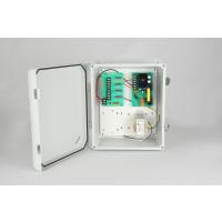 Weather Proof Power Supplies - 12 VDC, 4 Output, 5 Amps, NEMA 4X Enclosure, Fused