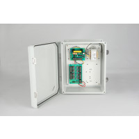 Weather Proof Power Supplies - 12 VDC, 8 Output, 3 Amps, NEMA 4X Enclosure, Fused