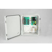 Weather Proof Power Supplies - 12 VDC, 8 Output, 5 Amps, NEMA 4X Enclosure, Fused