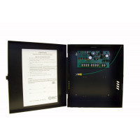 CCTV Power Supply - Selectable Output - 6,12,15 VDC, 4 Out, 2.5 Amp, Kit Includes 24V 100VA Open Frame Transformer, Fused