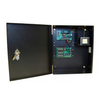 Security Power Supply / Selectable Output -  12/24 VDC, 5 PTC Out, 3 Amp, FACP Interface