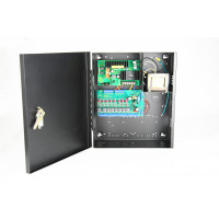 Security Power Supply / Selectable Output -  12/24 VDC, 8 Out Power Control Board, 7 Amps, FACP Disconnect