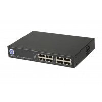 CCTV PoE Midspan - 8 Port, 15.4W per port, PoE Mid-span, 10/100/1000M 125W