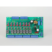 8 Fused Output, Power Controller Board - FACP Disconnect