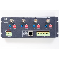 4CH Active UTP Video Balun Transceiver for CCTV Camera.  4 CCTV cameras over a single UTP cable.