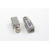 1CH Passive UTP Video Balun Transceiver for CCTV Camera, Straight model
