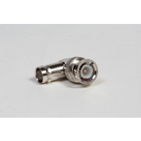 BNC Female-Male Right Angle Adapter