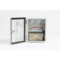 Weather Proof CCTV Power Supply - 12VDC, 1 Output, 4 Amp, PTC protection, Weather Proof, UL Listed