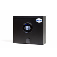 "Electronic Safe, Top Opening - Fits up to a 14"" laptop computer"