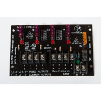 4 Fused Output Power Distribution Board