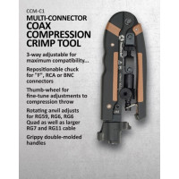 CCM-C1 Multi-Connector Compression Coax Crimp Tool
