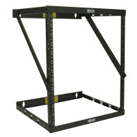 "Tripp Lite SmartRack 8U/12U/22U Expandable Flat-Pack Low-Profile UPS-Depth Wall-Mount 2-Post Open-Frame Rack (Device depth 18.24"")"