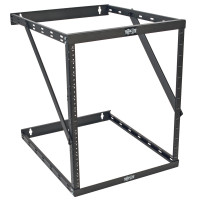 "Tripp Lite SmartRack 8U/12U/22U Expandable Low-Profile UPS-Depth Wall-Mount 2-Post Open-Frame Rack (Device depth 23.5"")"