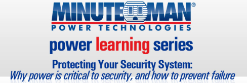 Security & Power: Protecting Vital Security Equipment